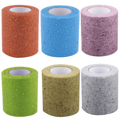 Wedding Banquet Party DIY Tutu Gift Chair Glitter Sparkling Tulle Spool 25 Yards