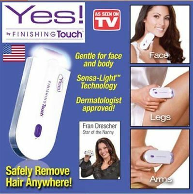 Yes Finishing Touch Hair Remover Depilator Pro As Seen on TV Instant & Pain Free