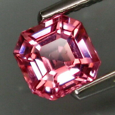 0.76Ct.Ravishing Color! Natural Pink Spinel MaeSai,Thailand Perfect Shape