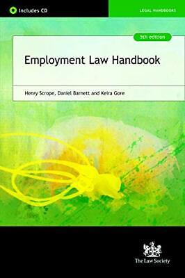 Employment Law Handbook by Gore, Keira Book The Cheap Fast Free Post