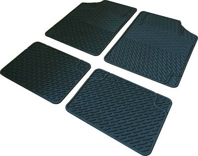 Universal Large Heavy Duty Rubber Mats Dodge RAM 3500 Extended 2005-2008