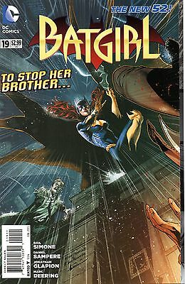 Batgirl Comic 19 DC 2013 New 52  Simone Sampere Glapion A Blade From The Shadows
