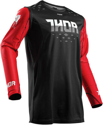 Thor 2018 S8 Prime Fit Rohl MX/ATV Jersey Red/Black Adult All Sizes