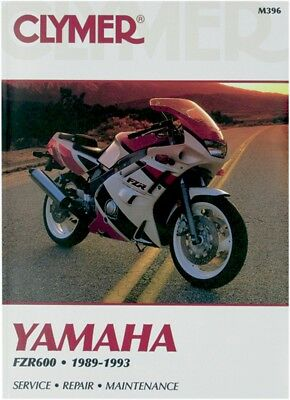 clymer repair manual fits yamaha fzr600r aud. Black Bedroom Furniture Sets. Home Design Ideas