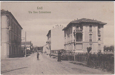 Lodi Via San Colombano 1910 Bella !