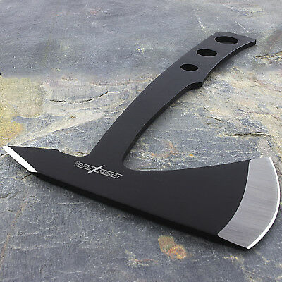 "9.5"" PERFECT POINT STAINLESS STEEL TOMAHAWK THROWING AXE w/ SHEATH Hatchet Hawk"