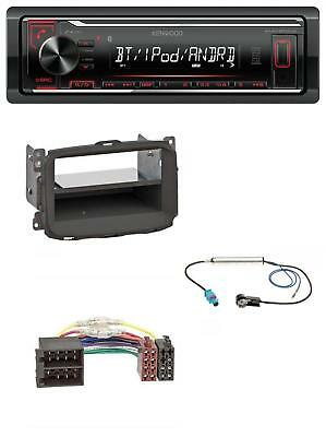 Kenwood AUX MP3 Bluetooth USB Autoradio für Alfa Romeo Giulietta (2010-2014)
