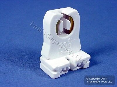 Leviton Fluorescent Lamp Holder T-8 T-12 Light Socket G13 Base 660W 600V 13351