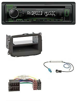 Kenwood 1DIN USB CD MP3 AUX Autoradio für Alfa Romeo Giulietta (2010-2014)