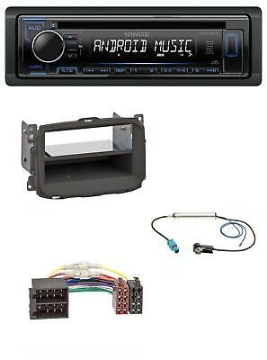 Kenwood CD AUX MP3 USB 1DIN Autoradio für Alfa Romeo Giulietta (2010-2014)