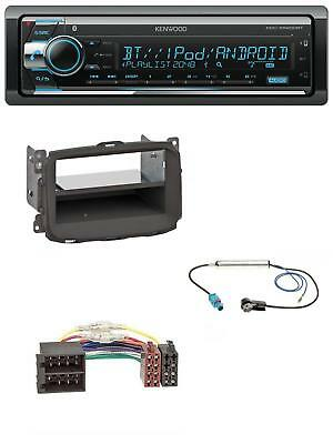 Kenwood Bluetooth CD AUX MP3 USB Autoradio für Alfa Romeo Giulietta (2010-2014)