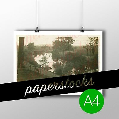 c.1900's 'MITCHELL RIVER' BAIRNSDALE A4 PRINT REAL PHOTO TRAVEL TOURISM