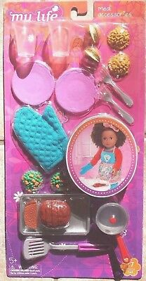 New My Life As Dinner Time Kitchen Playset For 18 Dolls Play Food Meal Toys 11 98 Picclick