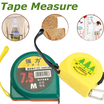 2m / 7.5m Options Steel Round Rule Measuring Tree Diameter Tape Measure DIY Tool