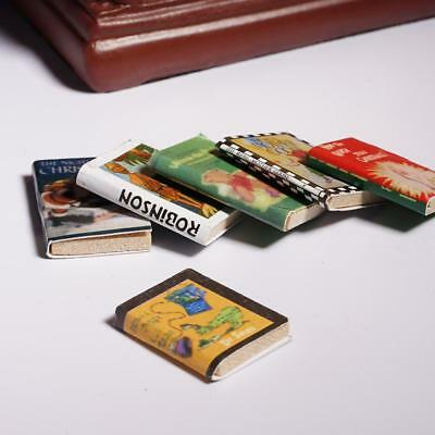 1:12 Miniature Books for Dollhouses Library Mini Books Decor for Doll house New