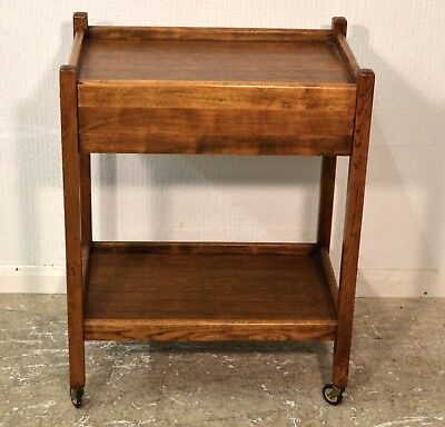 Vintage Antique wooden Trolley With Drawers - 3139