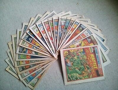 23 Battle Action Force Comics (27th July To December 28th 1985) 23 Comics