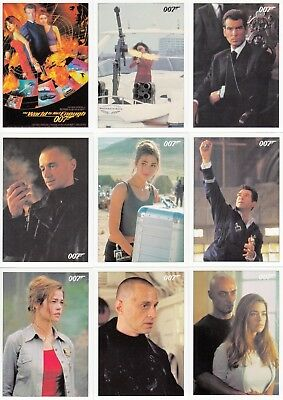 James Bond Classics The World Is Not Enough Movie 2016 Base Card Set Of 72