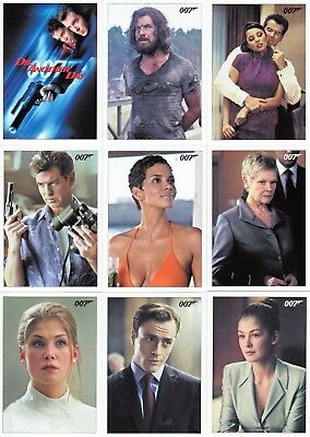 James Bond Archives Final Edition Die Another Day Movie 2017 Base Card Set Of 83