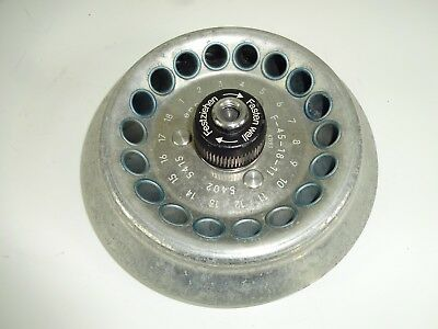USED - Eppendorf F-45-18-11 Rotor part (no lid)  For Centrifuge - 5415 / 5402