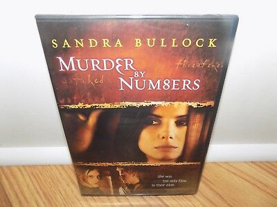 Murder by Numbers (DVD, 2009, Widescreen) BRAND NEW, SEALED - UPC CUT