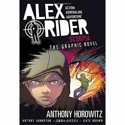 Scorpia: An Alex Rider Graphic Novel - Paperback (15 Aug 2017) NEW Brown, Kate (