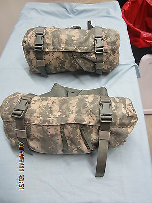 Lot of 2     MOLLE II Waist Pack – Butt/Fanny Hip Bag ACU Genuine US Military *