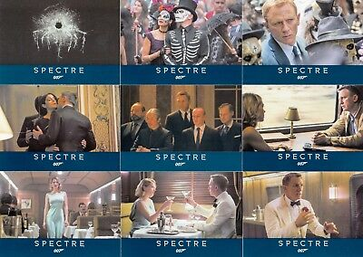 James Bond Archives Spectre Movie 2016 Rittenhouse Complete Base Card Set Of 76