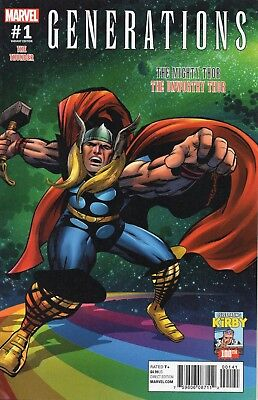 Generations The Mighty Thor The Unworthy Thor #1 (NM)`17 Aaron/ Asrar (Cover E)