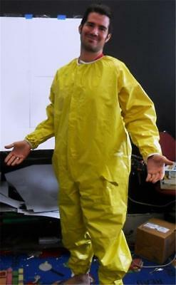 New Npo Nuclear Radiation Protection Protective Coverall Suit Vented Zipper Xl
