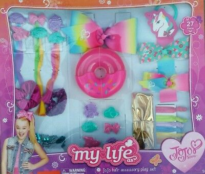 "BRAND NEW MY LIFE as JoJo Siwa - Hair Accessory Play Set - 27PC for 18"" dolls"