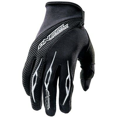 O'Neal Oneal element mens motocross gloves black size 9 MEDIUM 0398-109