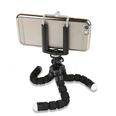 Universal Octopus Rotatable Flexible Phone Camera Tripod Mount Stand Holder