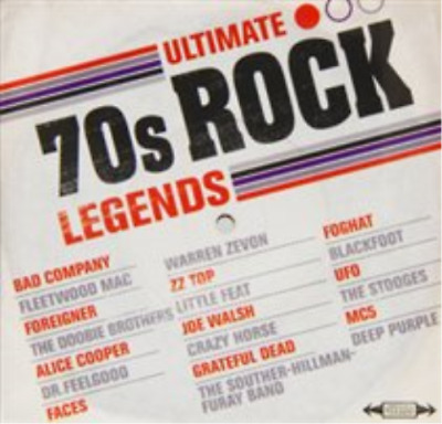 Various Artists-Ultimate 70s Rock Legends  CD NEW