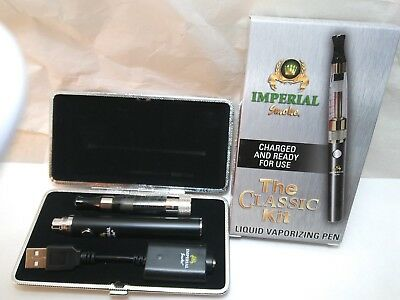 NEW Imperial Smoke Classic Vape Kit  Pen with case