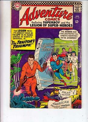 Adventure Comics  # 347  strict  VG  1st  Karate Kid, Princess Projectra Part II
