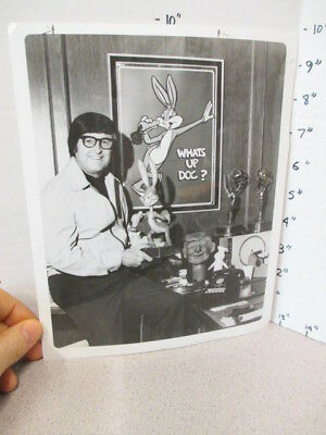 BOB CLAMPETT 1975 animation Warner Bros Bugs Bunny Beany Cecil vintage photo
