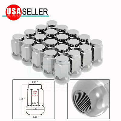 Set of 20 Red 60mm M12X1.5 Arrow Style Extended Racing Spiked Lug Nuts Aluminum