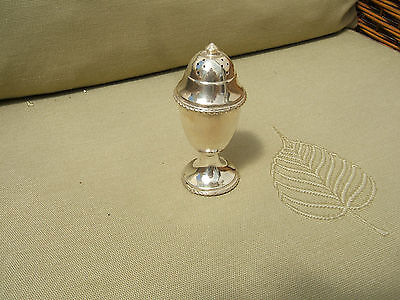 Antique  Silver Plated Pepperette