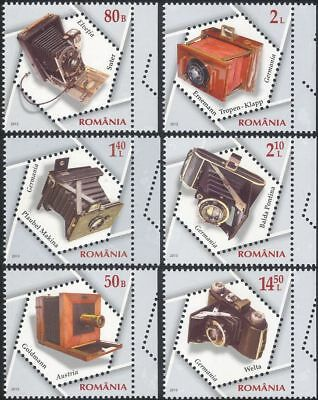 Romania 2013 Cameras/Photography/Pictures/Photographs/Inventions 6v set (s1912j)