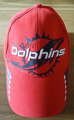 Miami Dolphins Baseball Cap [ Red ]