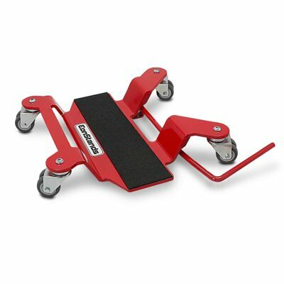 Motorcycle Motorbike Turntable Mover Skate Wheel Dolly ConStands red