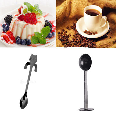 2x Coffee Espresso Scoop Measuring Spoon 50mm Cold Brew Coffee Tamping Tool