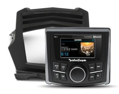 Rockford Fosgate Stage 1 Stereo Dash Kit For Can-Am Maverick X3 X3-STAGE1