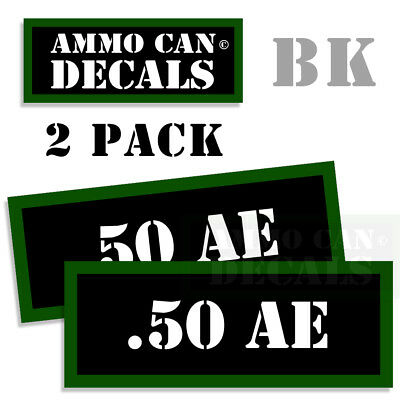 """9MM Ammo Can 4x 9MM Labels Ammunition Case 3/""""x1.15/"""" 9MM sticker decals 4 pack AG"""