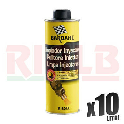 Additivo Auto Bardahl Diesel Injector Cleaner Iniettori 20 x 500 ml - 10 litri