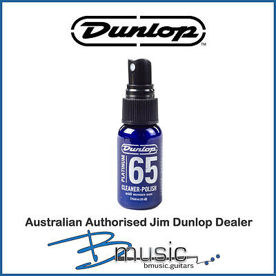 Jim Dunlop Platinum 65 1oz Cleaner Polish - High quality 2-in-1 cleaner & polish