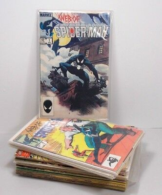 Marvel Lot Of 44 Web Of Spider-Man Comics 1985-1995 #1-129 Various + Annuals