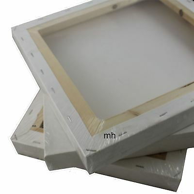"""deep edge stretched canvas 8 x 8"""" chunky square canvases Royal & Langnickel"""
