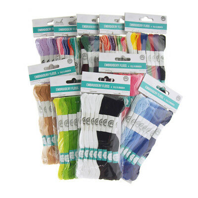 Cotton Embroidery Floss, 8.7-Yard, 8-Count